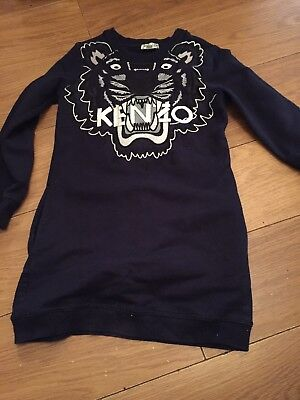 Girls Kenzo Dress Age 8 128