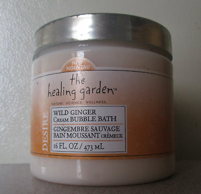 The Healing Garden Wild Ginger Cream Bubble Bath 16 Fl.oz 473 Ml