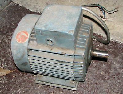 3 Phase Motor 2880 RPM, 1.1kw, 415 V, 2.4 A Induction ASEA