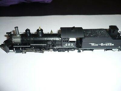 HON3 Blackstone DC/DCC W/Sound Rio Grande K-27 2-8-2 Locomotive #453 NEW.