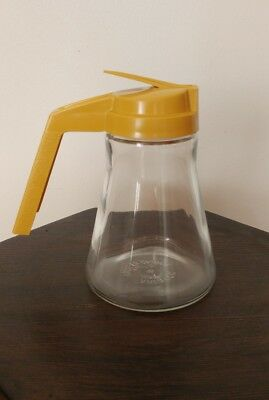Vintage Androck Syrup Dispenser Drip Cut - Made In Canada - Diner, Kitchenware