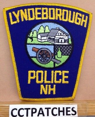 Lyndeborough, New Hampshire Police Shoulder Patch Nh