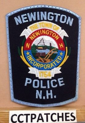 Newington, New Hampshire Police Shoulder Patch Nh