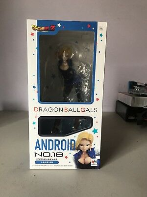 MegaHouse Dragon Ball Z Gals DBZ Android 18 Anime Figure Figurine New in Box