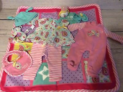 American Girl Doll Bitty Baby Collection- Blanket, Clothes +++