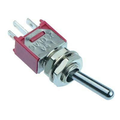 On-On Sub-Miniature Toggle Switch 3A SPDT