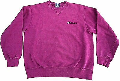 VINTAGE 90s spell out CHAMPION brand SCRIPT sweatshirt adult XL MADE IN USA v