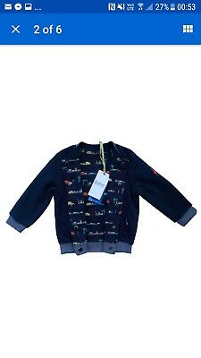 ## Brand new boys ted baker reversible jacket  9-12 months