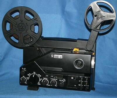 Projector Heaven, Sankyo 702 Sound, 2 Track, Super 8 Movie Projector Serviced A1