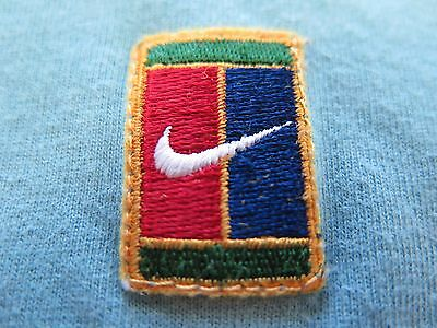 Vintage Nike Short Sleeve Cotton Solid Green Pullover Tennis Polo Shirt Large