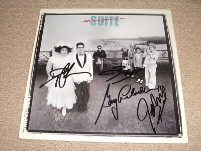 Honeymoon Suite - Signed The Big Prize Vinyl Record! Band Autographed! Authentic