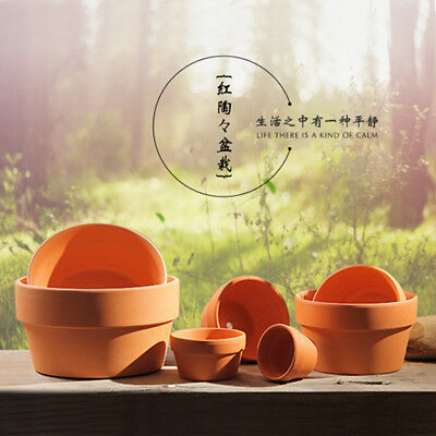 Terracotta Pot Clay Ceramic Pottery Planter Succulent Flower Pots with hold