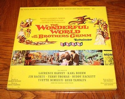 The Wonderful World of The Brothers Grimm - MGM Records Deluxe Edition with Book