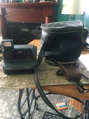 Polaroid Impulse AF Instant 600 Camera. With Case