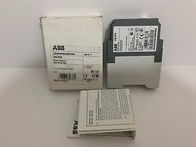 New! Abb Phase Sequence Monitoring Relay 1Svr430824R9300 200-500 Vac 50/60Hz