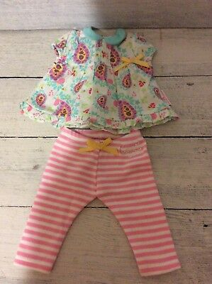 American Girl Doll Bitty Baby Outfit Pants Top/Dress