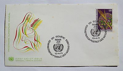 FDC - United Nations 1971 - Official Geneva Cachet