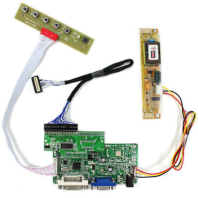VGA DVI LCD Controller board RT2281 work for 8.4inch 640x480 AA084VC03 LCD panel