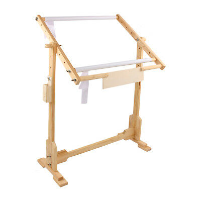 Cross Stitch Tapestry Floor Stand Tabletop Wooden Frames Embroidery Uk Stock