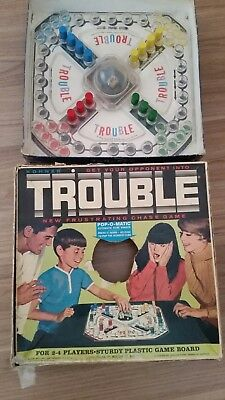 vintage Trouble board game 1965 USA