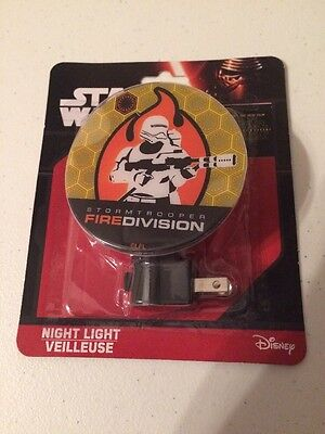 Star Wars Night Light Storm Trooper Fire Division