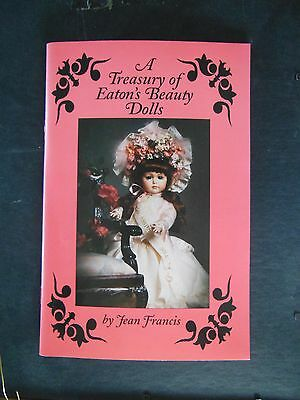 A Treasury Of Eaton's Beauty Dolls 48 Paged Booklet Unused Great Reference