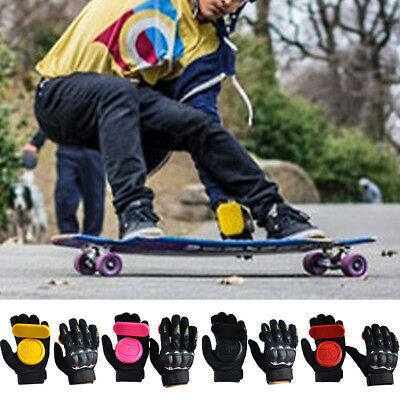 Longboard Skateboard Protect Brake Glove Downhill Slide Drift Dancing Gloves