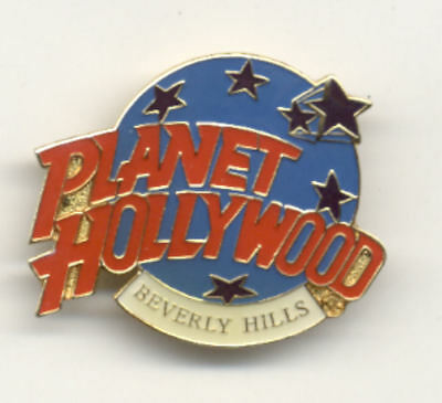 Planet Hollywood Beverly Hills Logo Pin