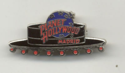 Planet Hollywood Madrid Hat City Pin