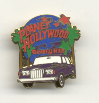 Planet Hollywood Beverly Hills Limo City Pin