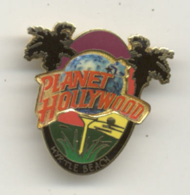Planet Hollywood Myrtle Beach Golf City Pin Version 2