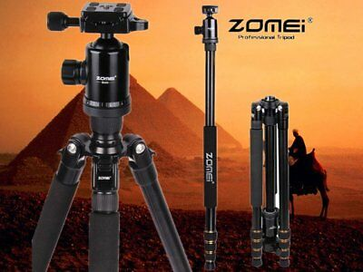 ZOMEI Z688 Portable Pro Aluminum Tripod Monopod&Ball Head Travel for DSLR Cam MX