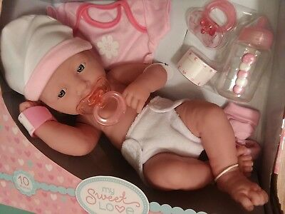 Precious Preemie Berenguer 14 Inch Baby With Layette Set New Out Of Box