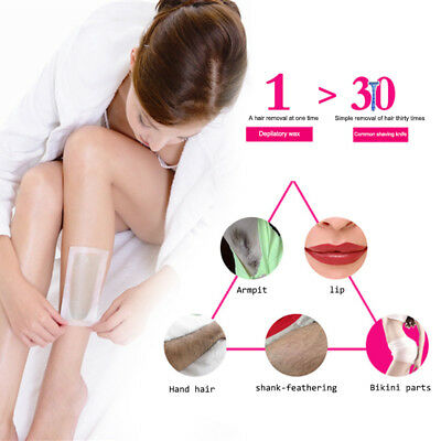 Trendy 3-In-1 Hair Removal Machine Set Epilator Wax And Papers For Leg Body Hair