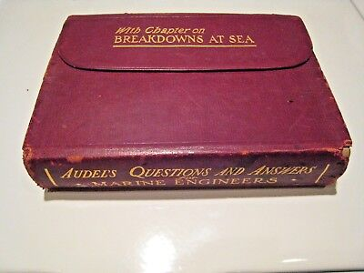 Questions And Answers For Marine Engineers, Theodore Lucas, 1903, 2Nd Ed