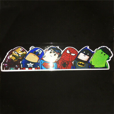 1PCs The Avengers Car Truck Auto Window Windshield Sticker DIY Universal