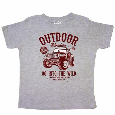 Inktastic Jeep Outdoor Adventure Toddler T-Shirt Classic Off-roading Off Road