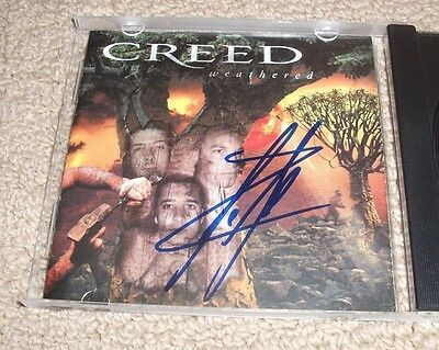 SCOTT STAPP - Signed Creed - Weathered CD! *Autographed* Lead Vocalist! Singer