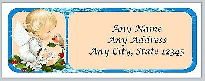 Personalized Address labels Christmas Angel Buy 3 get 1 free (ac 17)