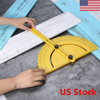 US Professional Protractor New Angle Engineer Protractor Angle Finder Measure