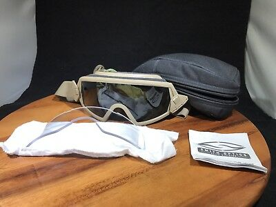 Smith Optics Outside The Wire Ballistic Goggles Foilage Green Field Kit