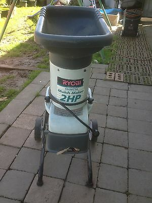 Garden Mulcher Shreader Ryobi 2Hp Working Order