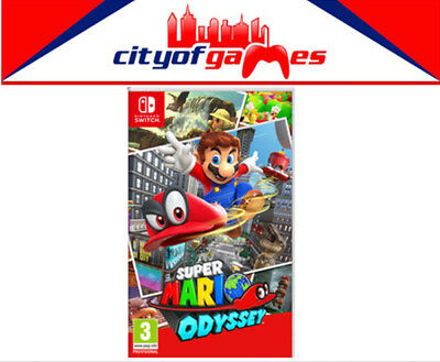 Super Mario Odyssey Nintendo SWITCH Game New