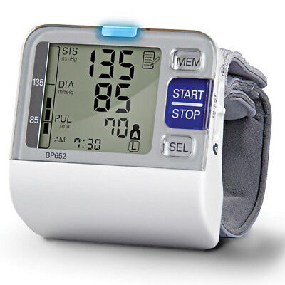 Omron HEM-6052 Wrist Digital Blood Pressure Monitor Upper Arm Heart Rate Machine