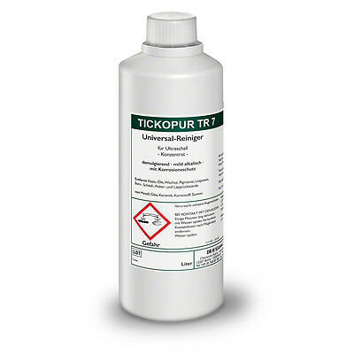 tickopur TR 7 universal-reiniger for Ultrasound 1 ltr. Cleaning Concentrate
