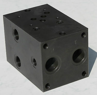 Hydraulic Baseplate 4 Professionally Connection Plate Without DBV NG 10