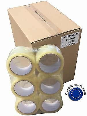 144 Casters PACKING TAPE TAPE SKS 305 Packing Tape 50mm x 66m PP Transparent