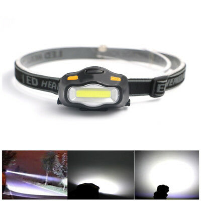 2000LM COB LED 3 Modes Headlight Head Lamp Torch Outdoor Fishing Camping Riding