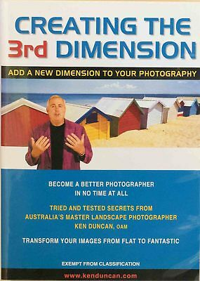 Creating The 3rd Dimension DVD KenDuncan Jump Start Your Photography By A Master