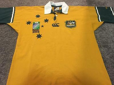 Australian Wallabies 2003 Rugby Union World Cup Jersey- Size Small